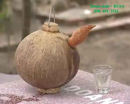 rượu dừa sành rusa